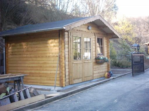 Holz, Gerätehaus, Holzbau