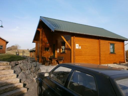 Ferienhaus, Holz, Ferienhausanlage