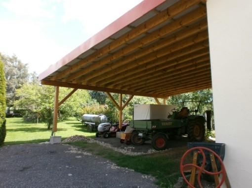Carport, Holz, Carporthaus