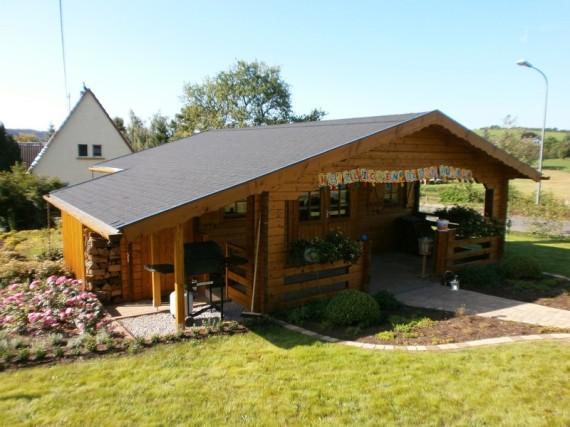 Blockhaus, Gartenblockhaus, Gartenholzhaus