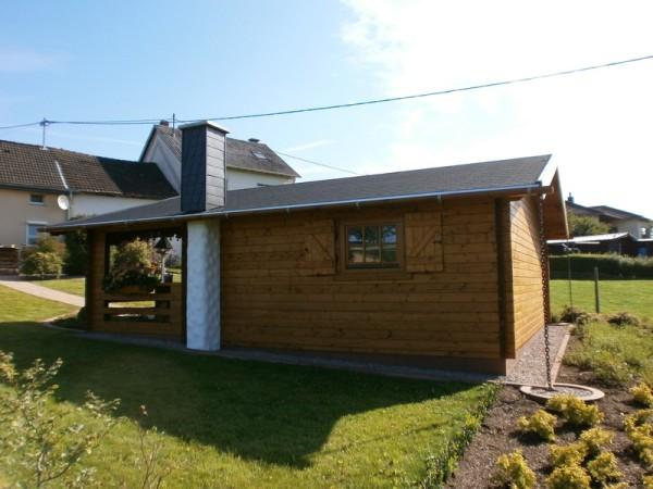 Holzhausbau, Gartenhaus, Holz