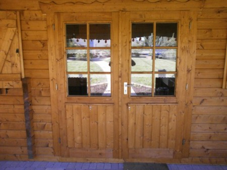 Tür, Holz, Doppeltür