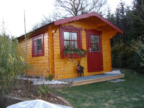 Wochenendhaus, Holz, Garten